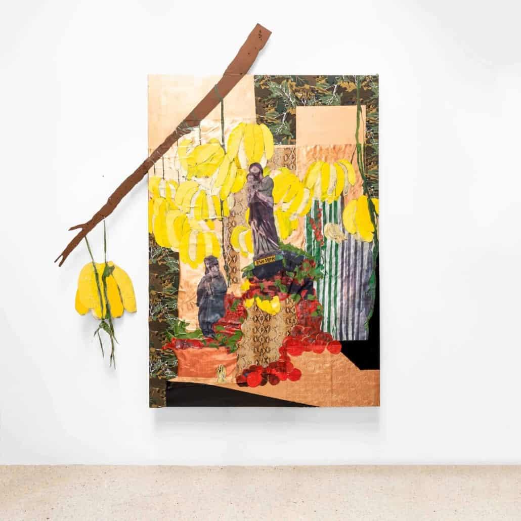 Katharien de Villiers, Bananas and Saints alike, 2019.