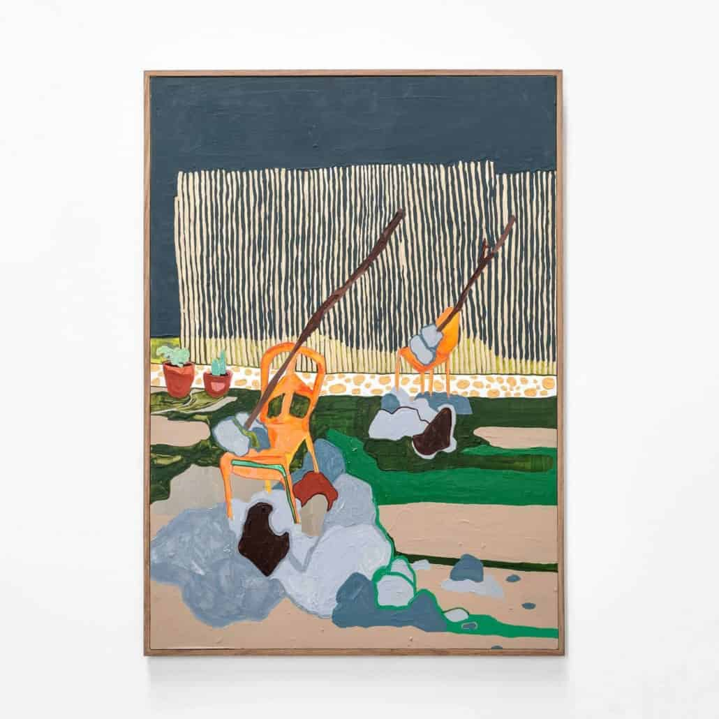 Katherine de Villiers, The Washing Line, 2019. Todas las imágenes son cortesía del artista y SMITH.