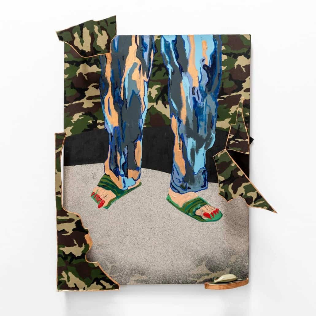 Katharien de Villiers, Undercover Lover Dont slip and fall, 2019.