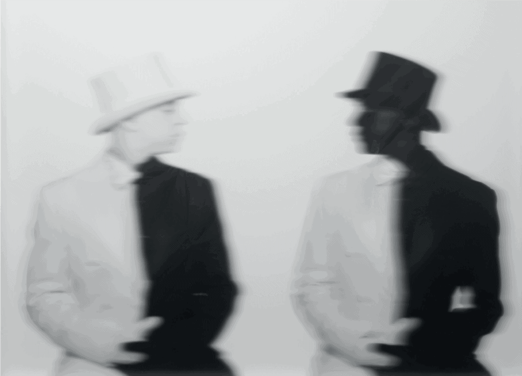 Hank Willis Thomas, Crossroads, 2012. Digital C-Print and plexi with lumisty film, 79 x 98 x 10,5cm. © Hank Willis Thomas