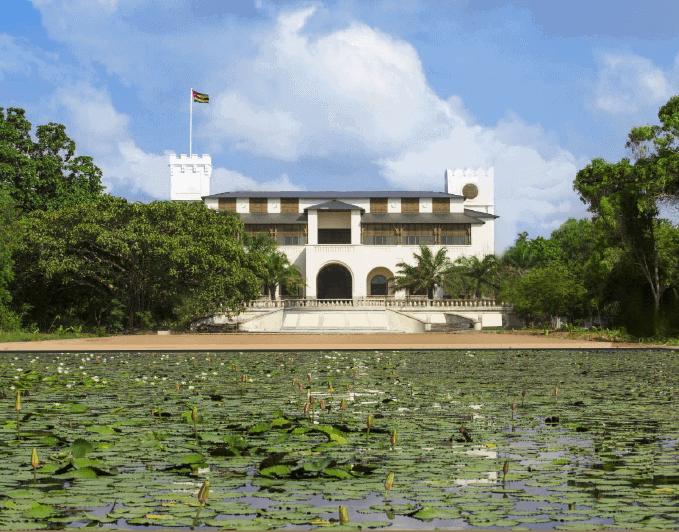 The fully-restored Palais de Lomé. Courtesy of the Palais de Lomé & the Togolese Republic.