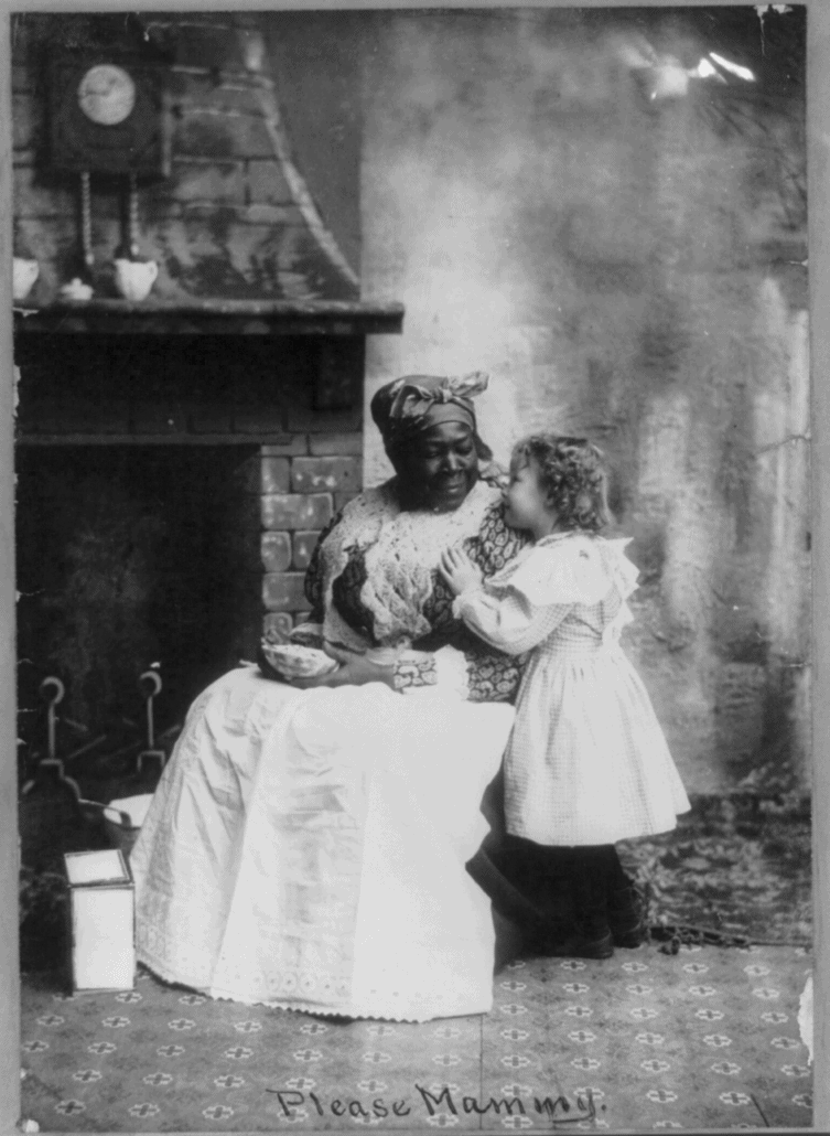 Please Mammy, ca. 1899. Photographer unknown. Courtesy the Library of Congress Prints and Photographs Division