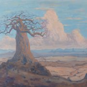 JH Pierneef, Baobabs with Soutpansberg in the distance, 1920, R – 9 million