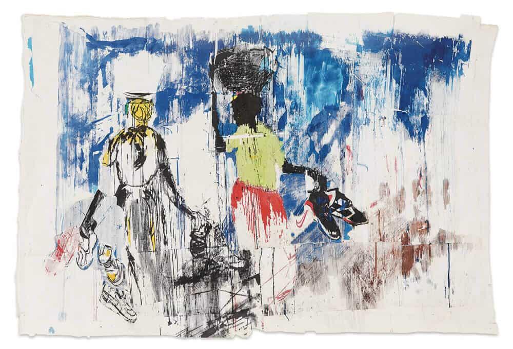Gareth Nyandoro, Tauya Nadzo Tsoka Dzenyu (Gloednieuwe tweedehands Nikes), 2016, R 180 - 000