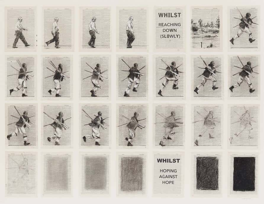 William Kentridge, Whilst Reaching Down (Slowly), 2013, R 3 – 5 million