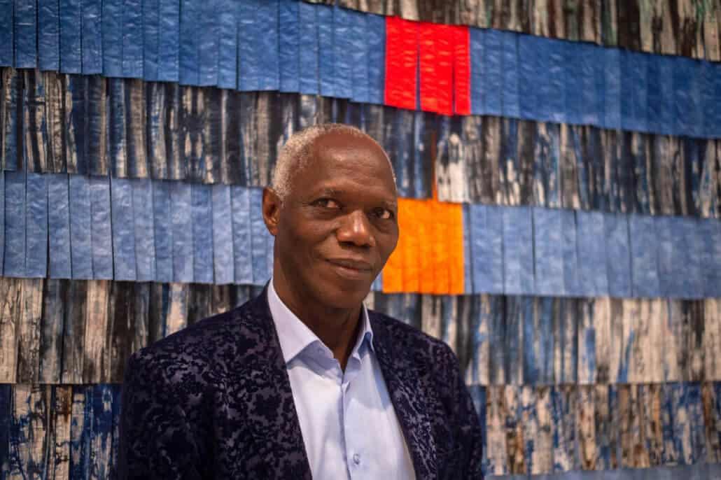 Abdoulaye Konaté. Courtesy of the artist & Blain Southern Photo/Madison McGaw.