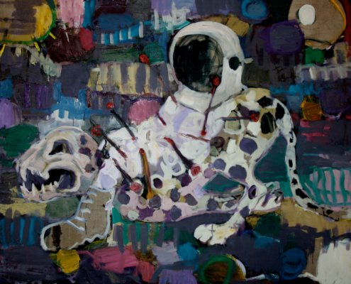 SOUTH AFRICAN AUCTION DEBUT RECORD Mischek Masamvu, Voodoo Astronaut, 2012   SOLD FOR: R 204 840