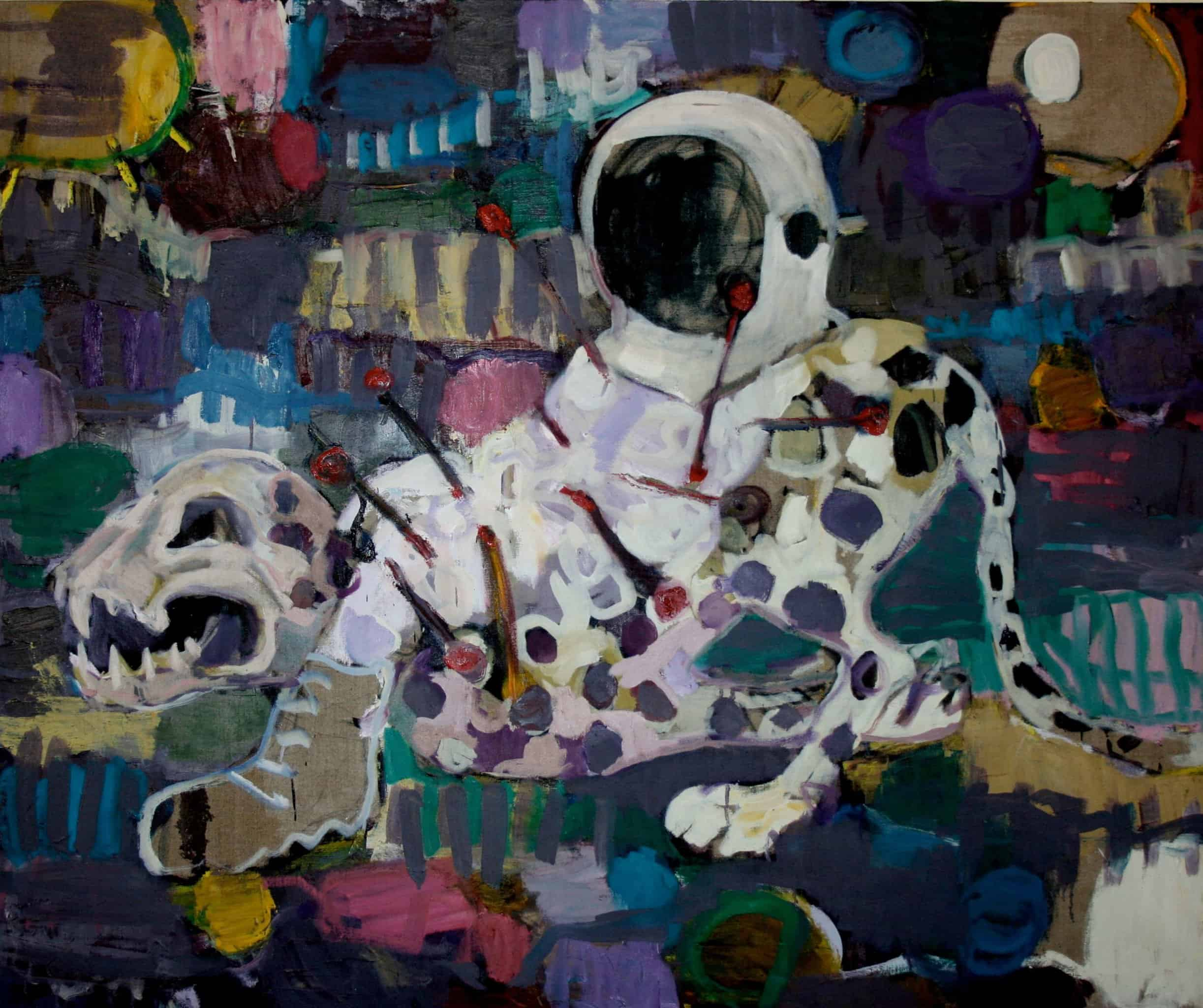 SOUTH AFRICAN AUCTION DEBUT RECORD Mischek Masamvu, Voodoo Astronaut, 2012 | SOLD FOR: R 204 840