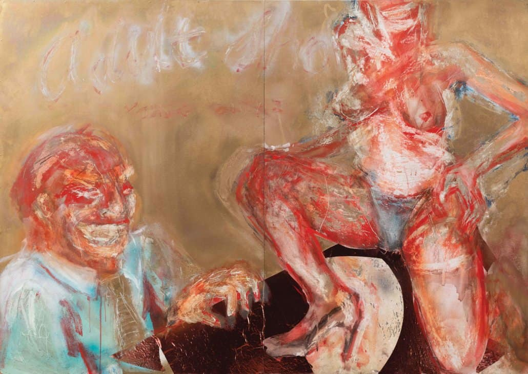WORLD AUCTION RECORD Lisa Brice,Adult Show, 1992| SOLD FOR R364160