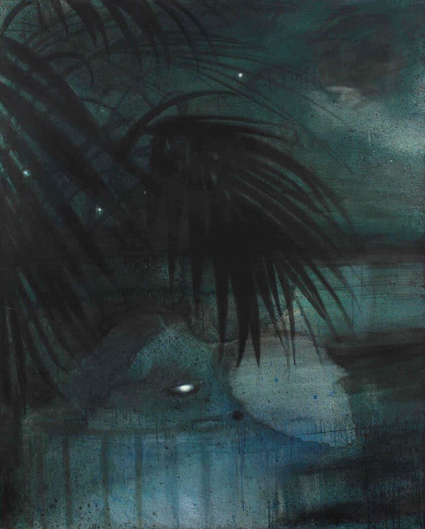 Lisa Brice | Zonder titel E | Olieverf op doek | 152 x 122 cm | R 150-000