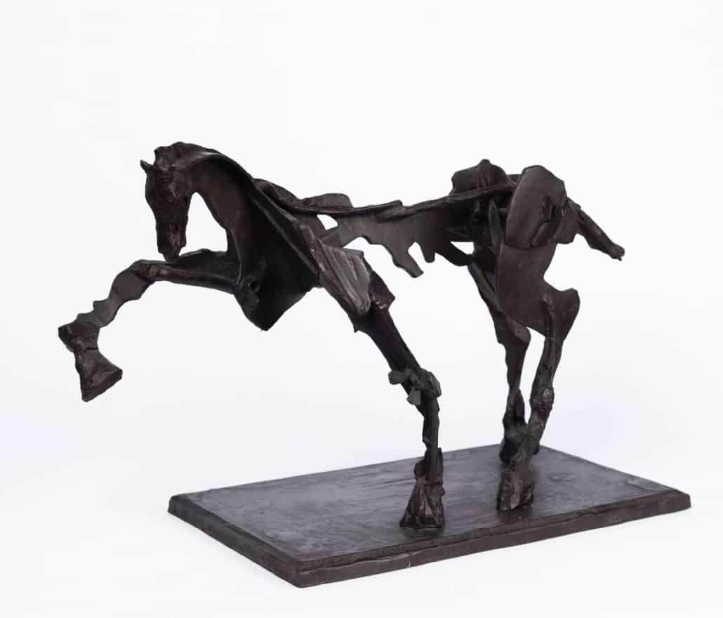 William Kentridge, Untitled IV (paard met verhoogd been) | VERKOCHT VOOR: R853 500