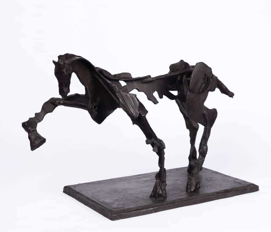 William Kentridge, Untitled IV (Horse with Raised Leg) | SOLD FOR: R853 500