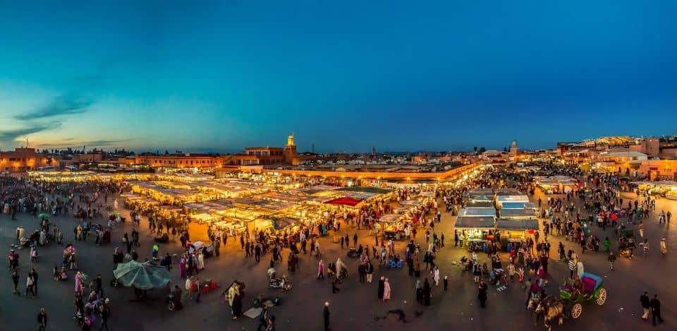 Für Marrakesch waren bereits feierliche Veranstaltungen geplant. Foto: Thomas Lipke