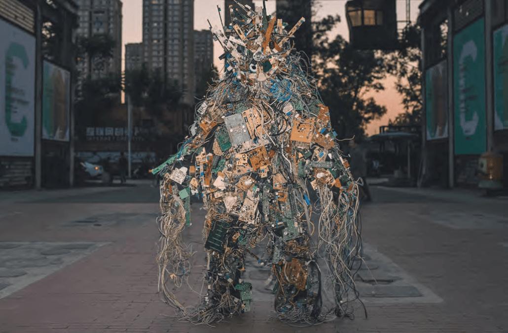 Core Dump - Shenzhen, 2018. Fotografo: Zidan. Per gentile concessione del team di esecuzione di Cosmopolis # 1.5.
